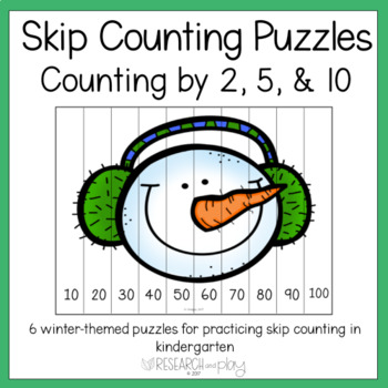 Counting by Tens Puzzles {Winter}