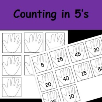 Counting in 5s worksheets