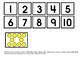 Counting or Grouping 1-10 File Folder Activity
