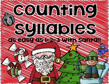 Counting syllables with Santa