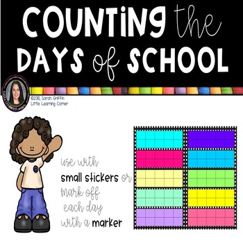 Counting the Days of School with Tens Frames