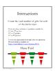 FREE Christmas Math: Twelve Days of Christmas & Triangular