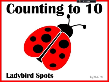 Counting to 10 Interactive PowerPoint