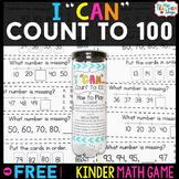 Kindergarten Math Game for Counting to 100 - Kindergarten