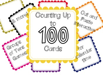 Counting to 100 Number Cards