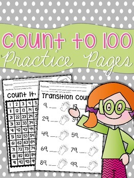 Counting to 100 Practice Sheets