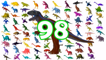 Counting to 100 with Dinosaurs and Other Prehistoric Animals