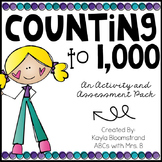 Counting to 1,000: An Activity and Assessment Pack
