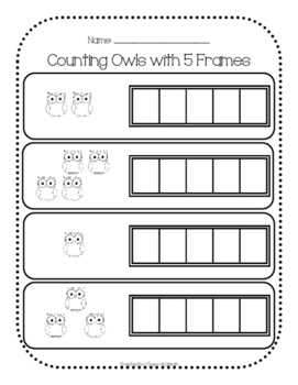 Counting with 5 Frames