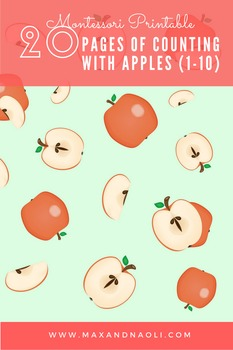 Counting with Apples (1-10) - Montessori Inspired