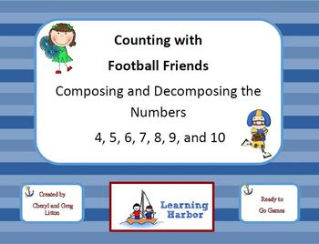 Counting with Football Friends - Composing and Decomposing