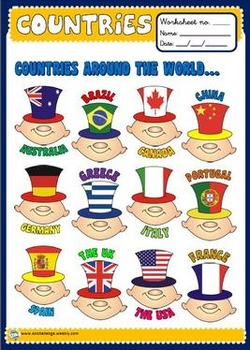 Countries Poster