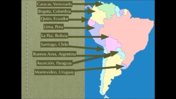 Countries and Capitals of South America Rap