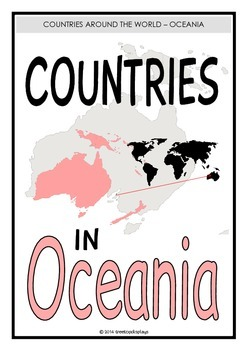 Countries in Oceania