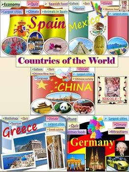 China - Spain - Mexico - Greece - Germany - BUNDLE - Power