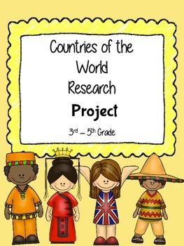 Countries of the World Research Writing Project