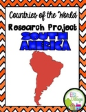Countries of the World | South America {Research Project}