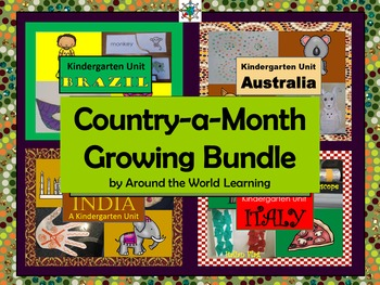 Country-A-Month Growing Bundle