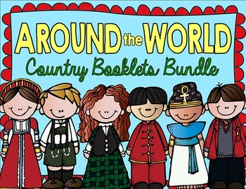 Country Booklets BUNDLE!