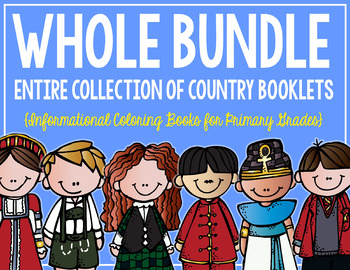 Country Booklets WHOLE BUNDLE! (All 26 books!)
