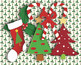 """Country Christmas Patterns 12 x 12"""" Digital Papers and Hol"""