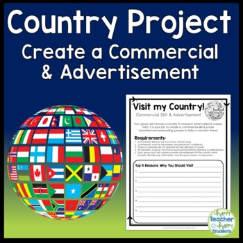 Country Project - Create a Commercial to Attract Tourists