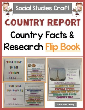 Country Research and Facts Interactive Activity - Social S