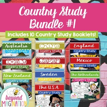 Country Study Bundle Number One {10 Countries Save $5!)