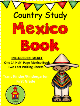 Country Study MEXICO Books
