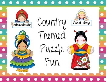 Country Themed Puzzles