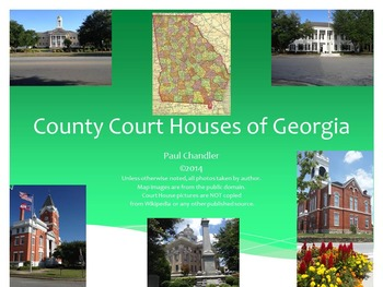 County Court Houses of Georgia