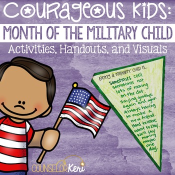 Month of the Military Child Poster/Handout Pack - Elementa
