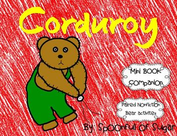 Courdoroy (Mini book companiion with paired non-fiction ac