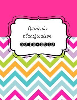 Couverture guide de planification