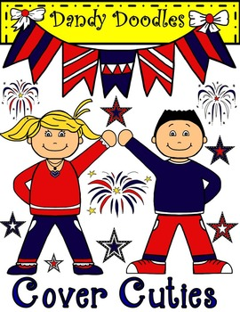 Cover Cuties Patriotic Friends
