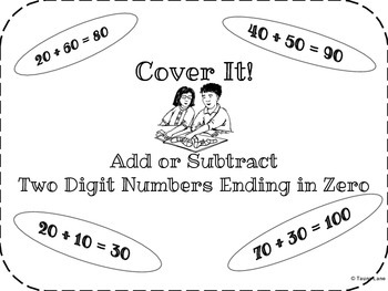 Cover It! Adding and Subtracting Tens