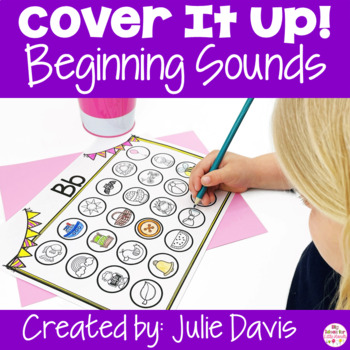 Cover It Up Beginning Sounds