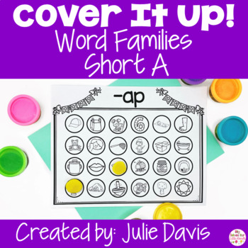 #2forTuesday Cover It Up Word Families Short A