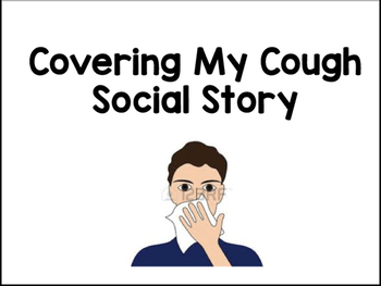 Cover My Cough Social Story