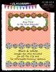 Cover Page Kit (May) - Flowers Clip Art - CU Clip Art, B&W