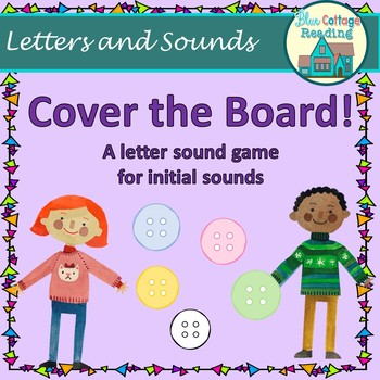 Cover the Board: initial sounds