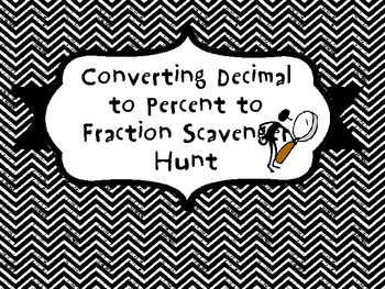 Coverting Fraction to Decimal to Percent Review