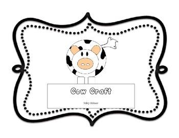 Cow Craft for Farm Unit
