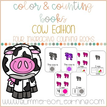 Cow Interactive Color and Counting Books
