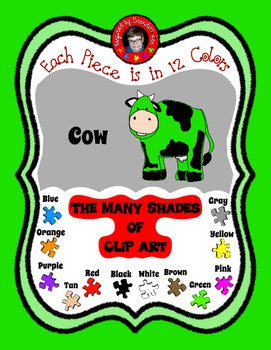 Cow ~ Udderly Cute Clip Art ~ Commercial Use & Free ~ Use