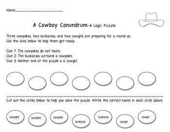 Cowboy Conundrum-A Logic Puzzle