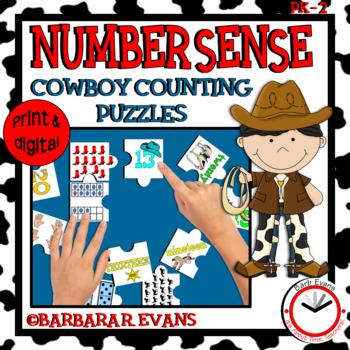 NUMBER SENSE: Numbers to 20, Number Sense Activity, Math C