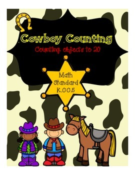 Cowboy Counting Puzzles (to 20)
