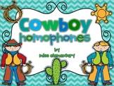 Cowboy Homophones
