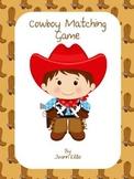 Cowboy Matching Game